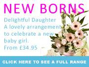 FLOWERS FOR NEW BORNS